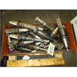 LOT Asst. 50 CT Taper Tool Holders in Box