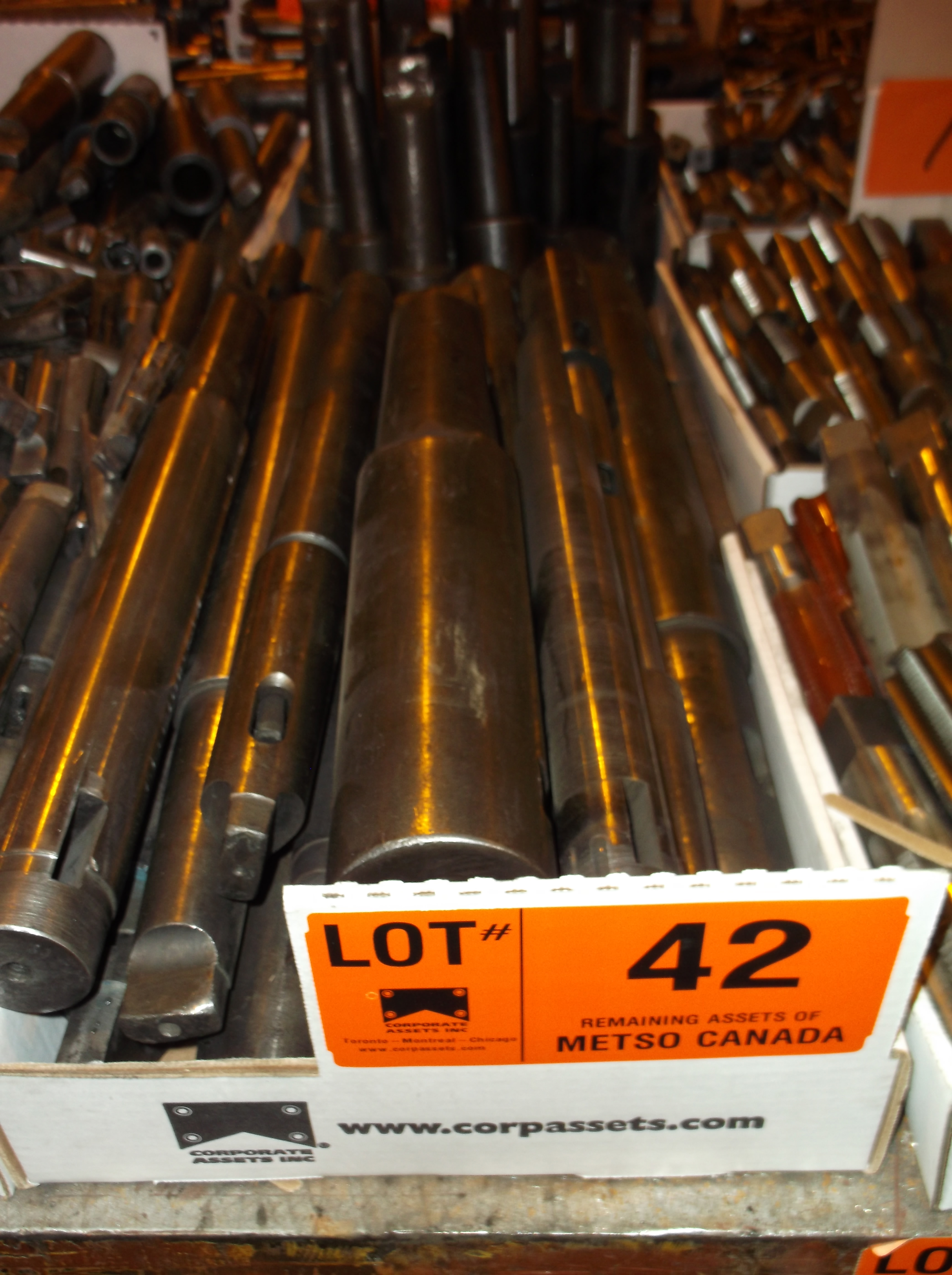 Lot 42 - DRILL SLEEVES
