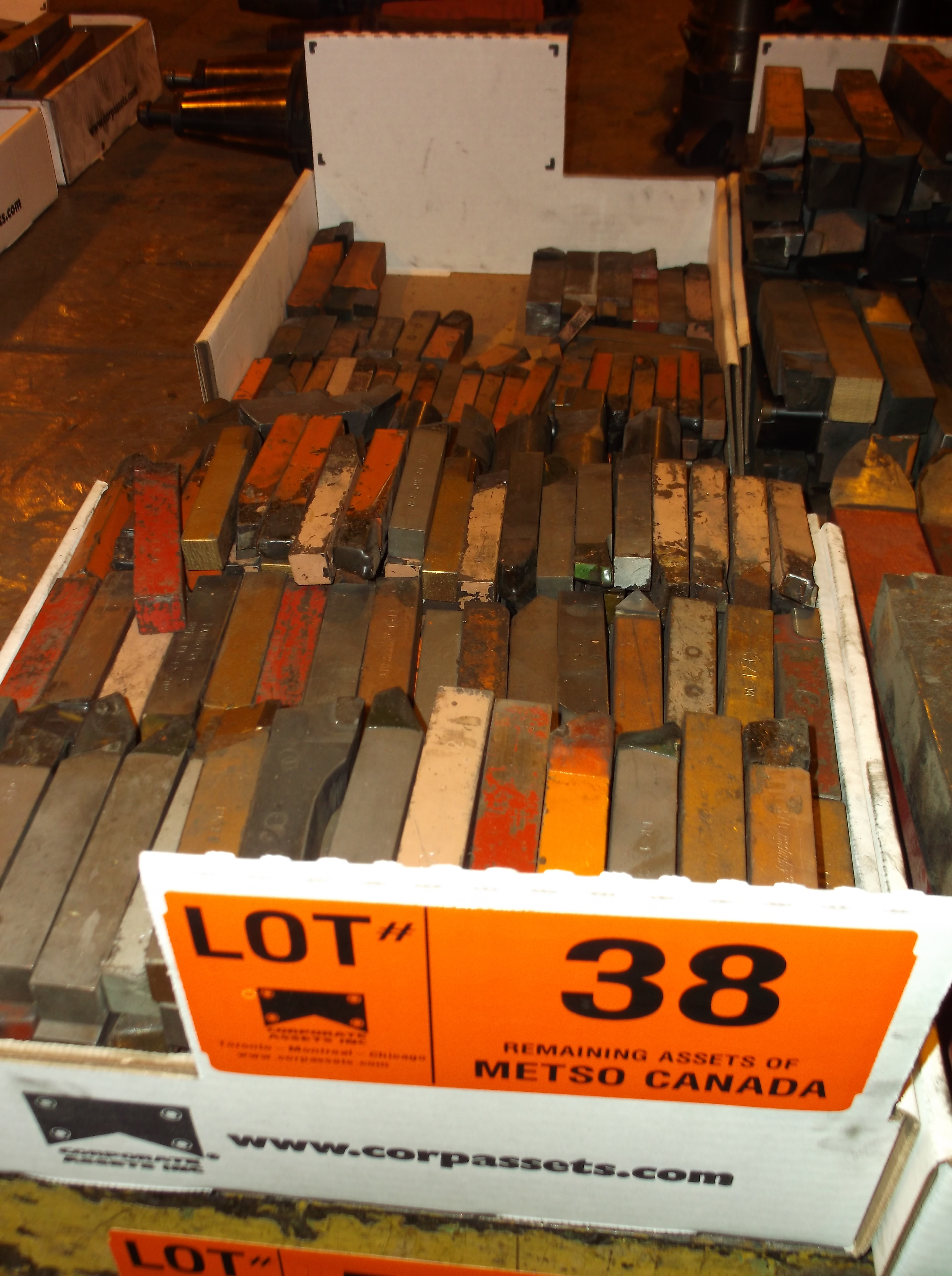 Lot 38 - CARBIDE   CUTTERS