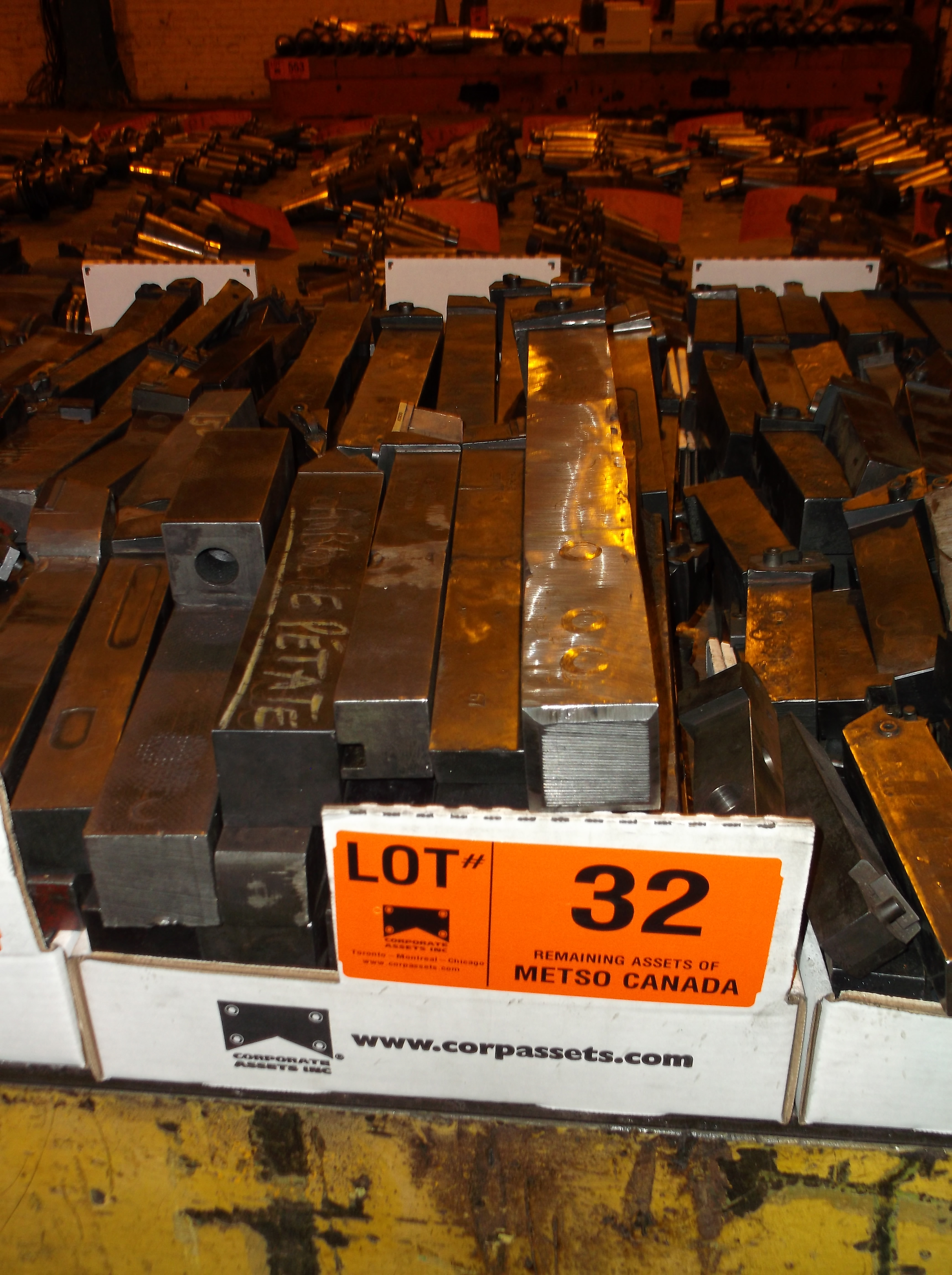 Lot 32 - CARBIDE   CUTTERS