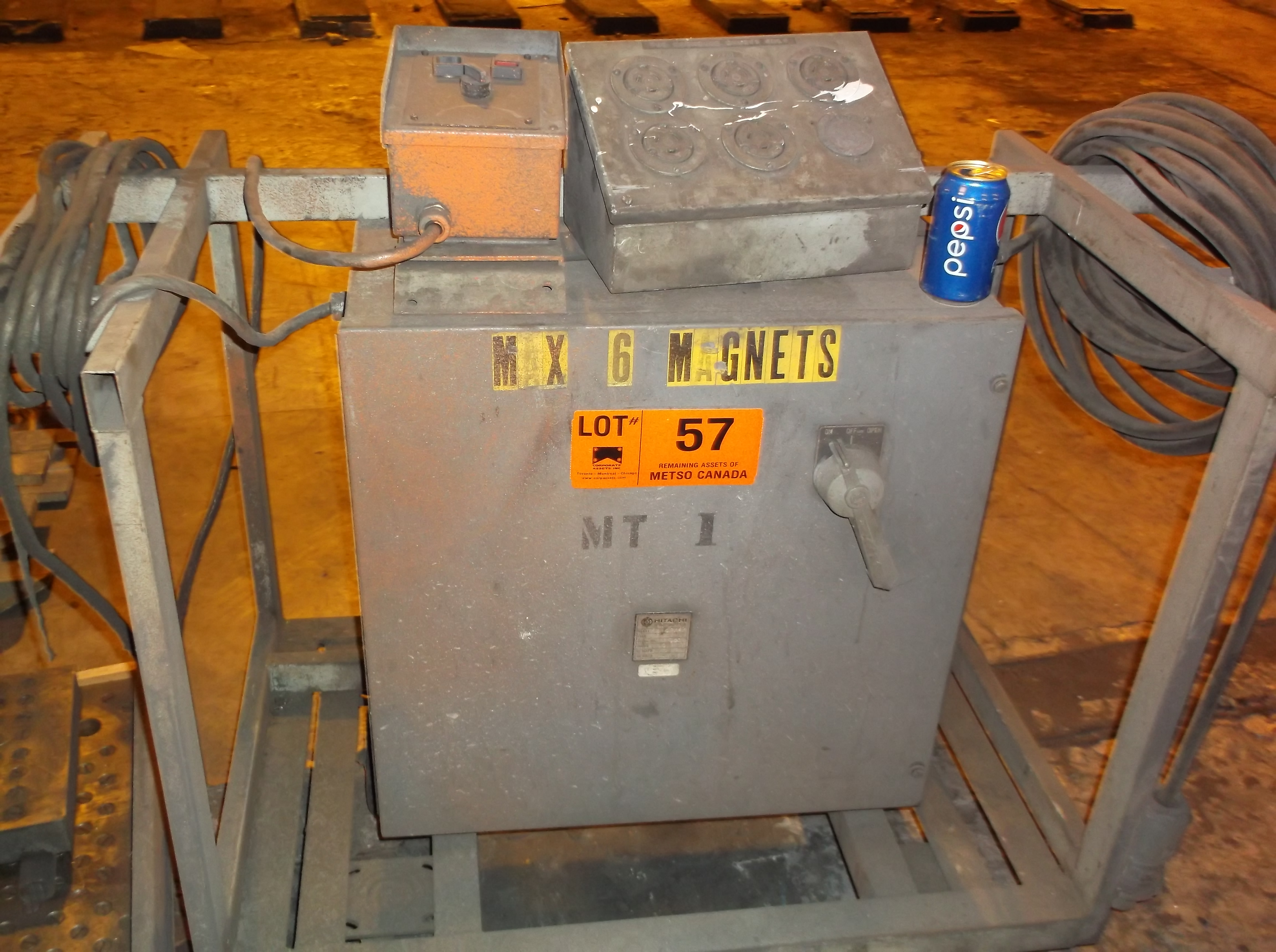 Lot 57 - MAGNETIC CHUCK  POWER CONTROL