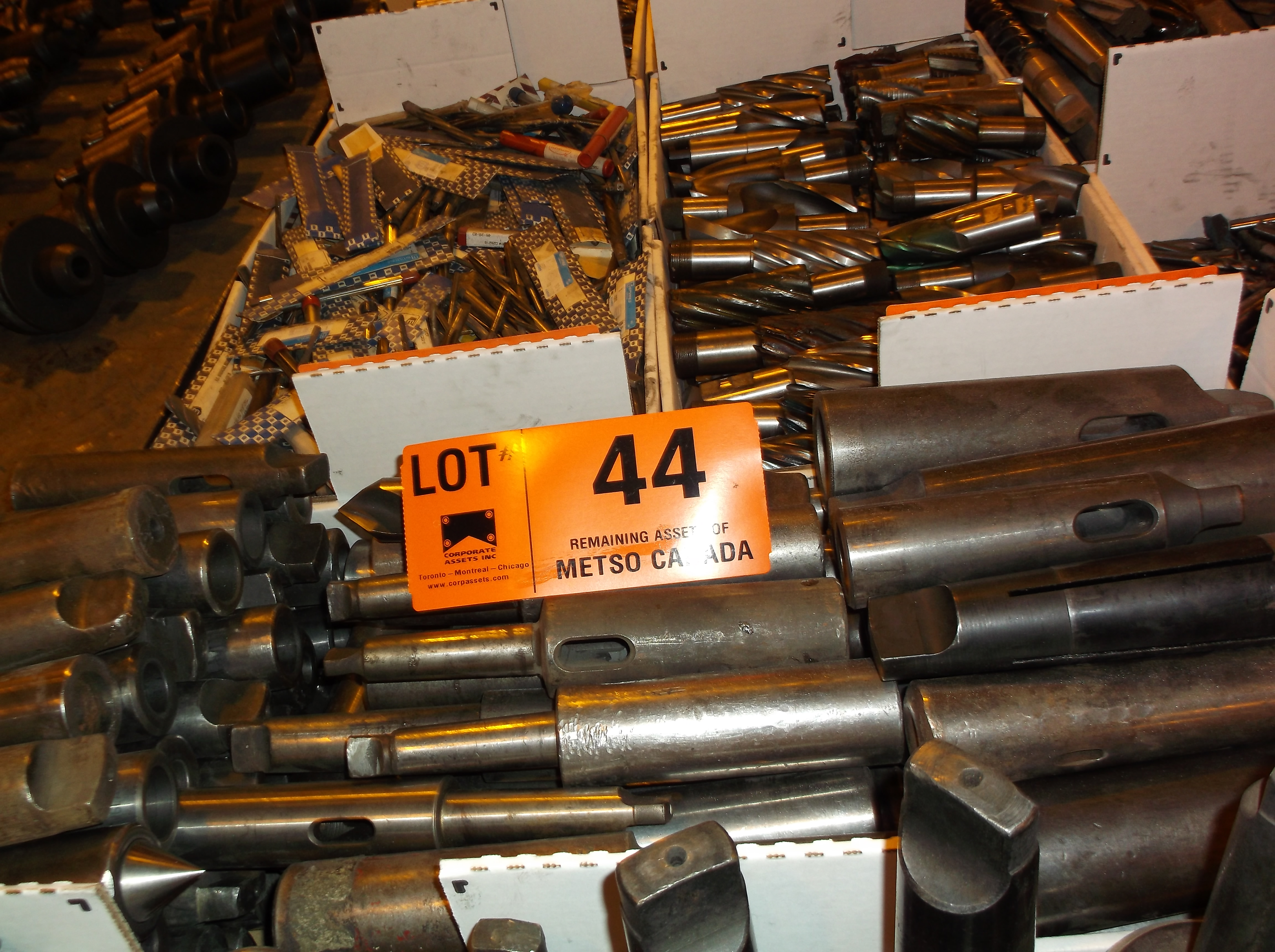 Lot 44 - DRILL SLEEVES