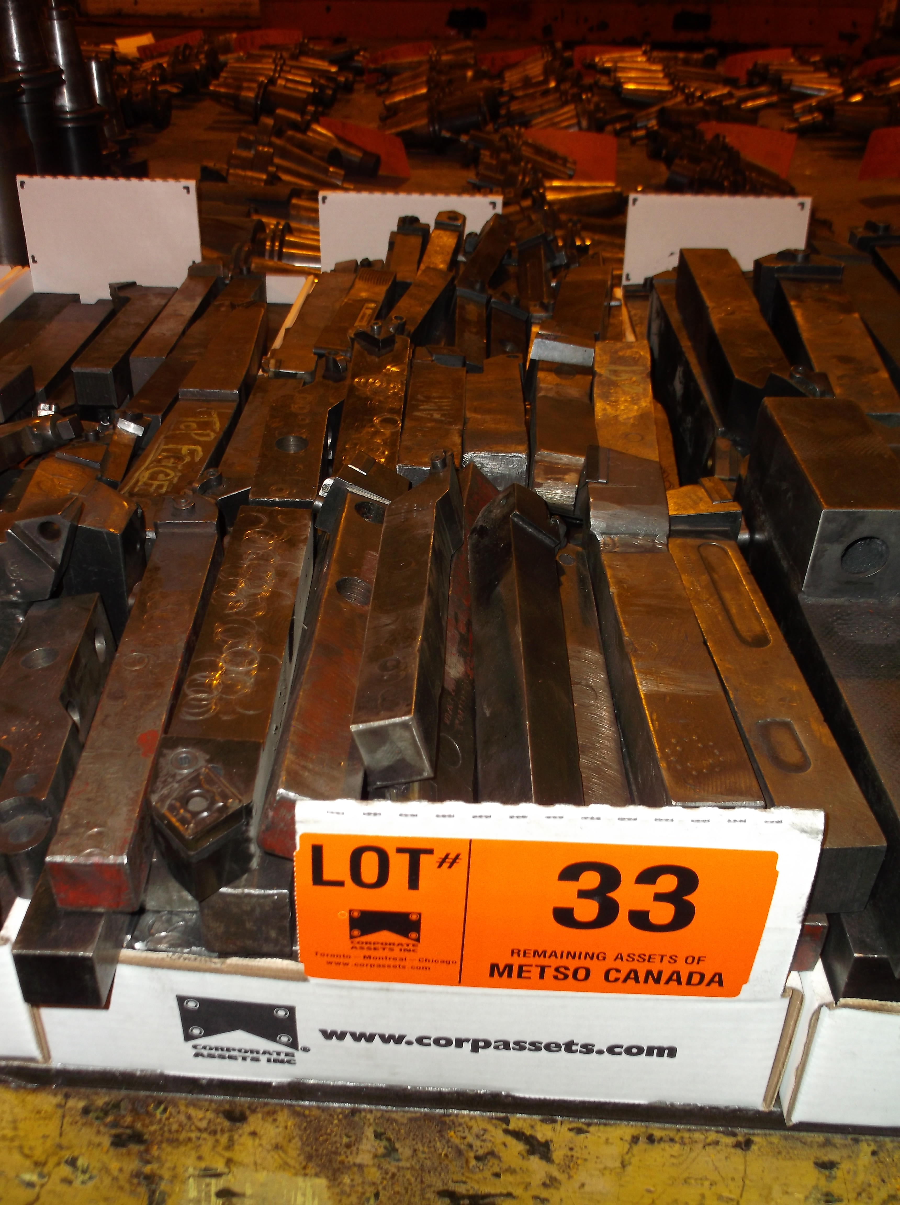 Lot 33 - CARBIDE   CUTTERS