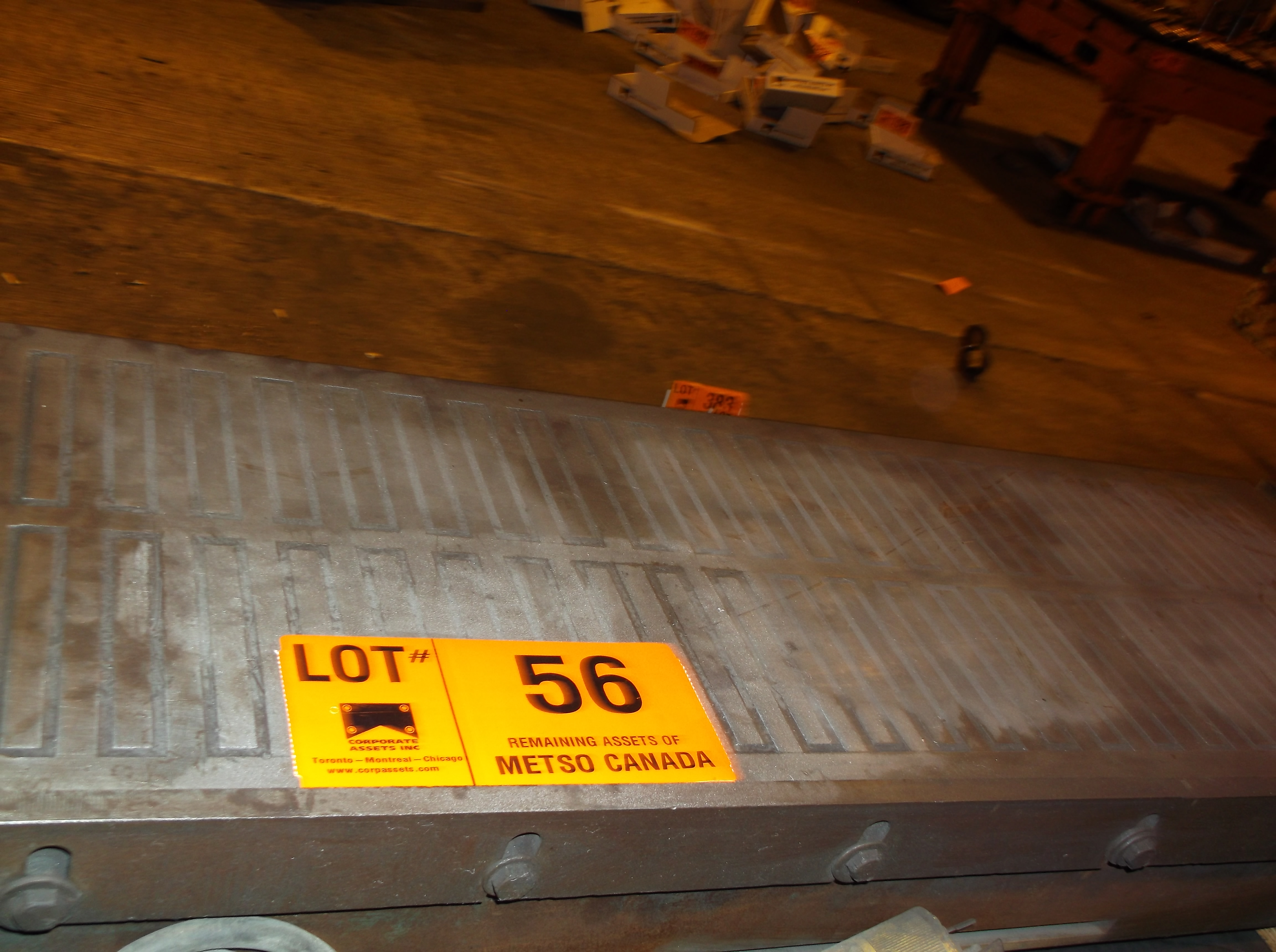 Lot 56 - 36''  X   12''     MAGNETIC CHUCK