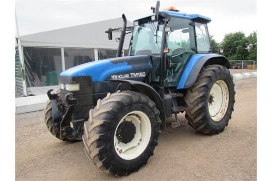 New Holland TM150 Tractor Reg  No  SD02 YNC