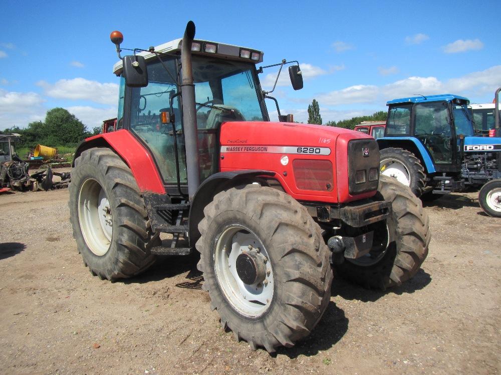 Tractor Front Suspension : Massey ferguson wd tractor c w front suspension v