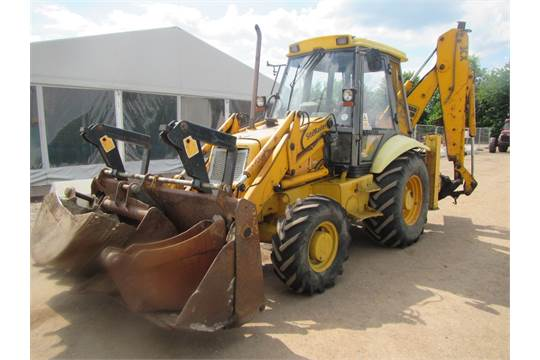 1994 JCB 3CX Project 8 Sitemaster Digger Loader c/w manual
