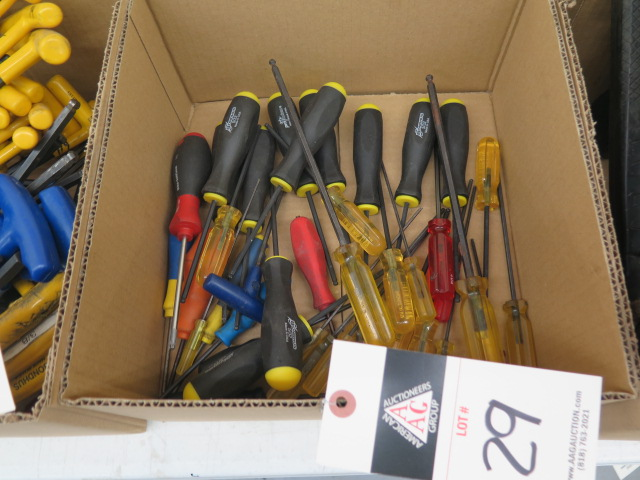 Lot 29 - Allen Screwdrivers
