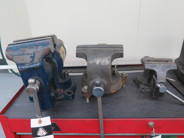 Lot 1 - Bench Vises (2)