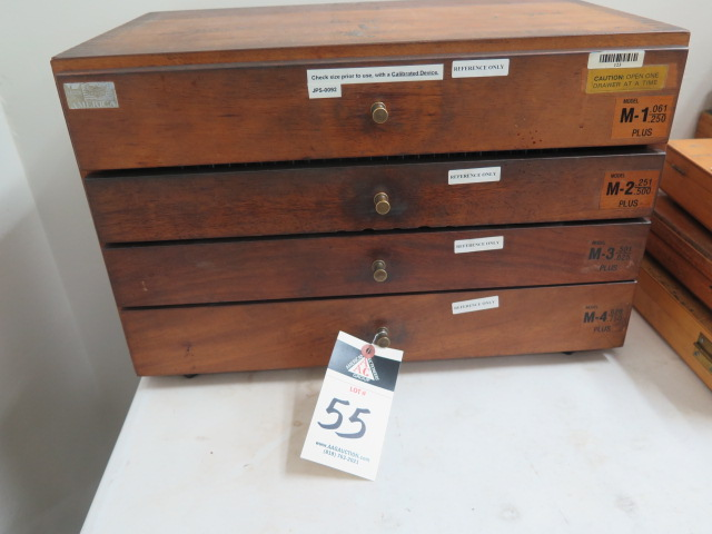 "Lot 55 - Meyer Pin Gage Cabinet .061""-.750"""