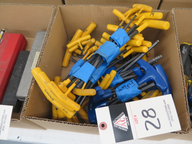 Lot 28 - T-Handle Allen Wrenches