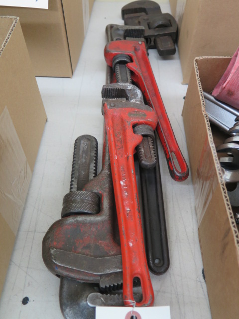 Lot 20 - Pipe Wrenches