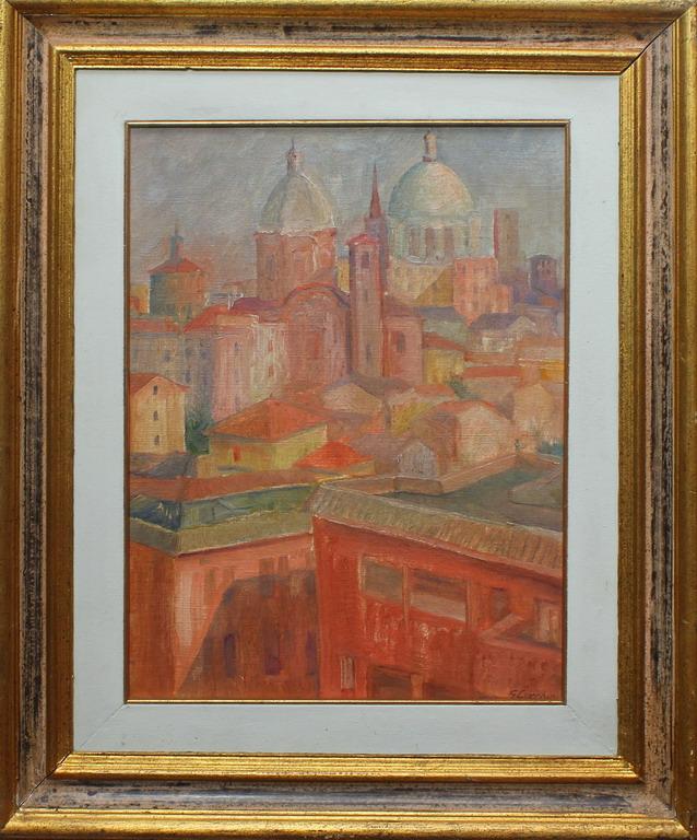 Lotto 54 - Mantova, Lucchini, olio, cm. 40x50