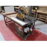 Wadkin Bursgreen BSW20 Panel Saw, machine no. 7915