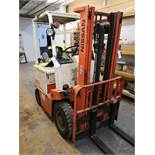 Nissan UBO2L200 Single Mast Electric Forklift BT R