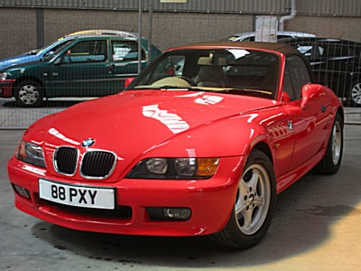 bmw z3 1895cc chassis number wbach72010ld87121 with a warranted 12195 miles from new with. Black Bedroom Furniture Sets. Home Design Ideas