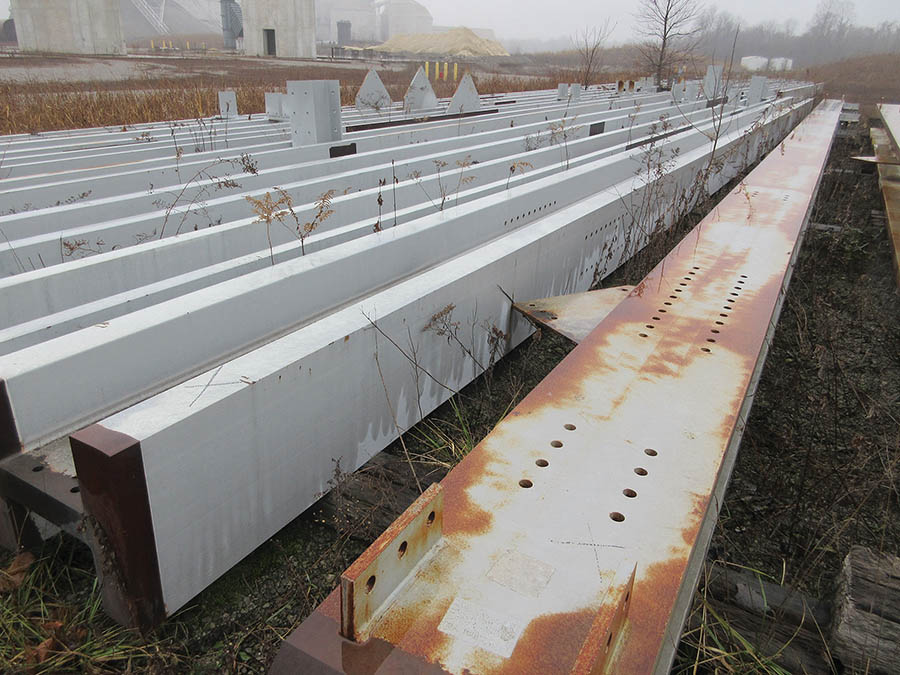 Lot 9 - LARGE LOT WITH JUMBO STRUCTURAL STEEL