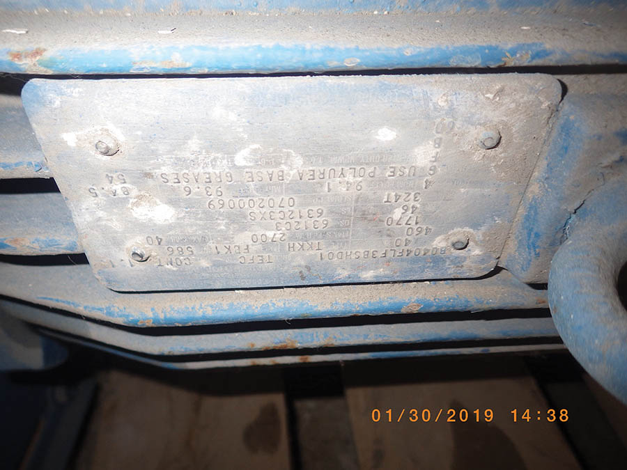 Lot 48E - WARMAN SLURRY PUMP, 38-C-HRM METAL LINED