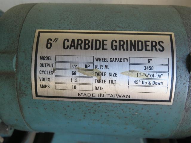 Import Pedestal Carbide Tool Grinder (SOLD AS-IS - NO WARRANTY) - Image 5 of 5