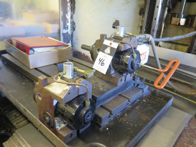 Haas HA5C2 2-Head 4th Axis 5C Rotary Indexer (ONE HEAD REMOVED FOR REPAIR) (SOLD AS-IS - NO - Image 4 of 8