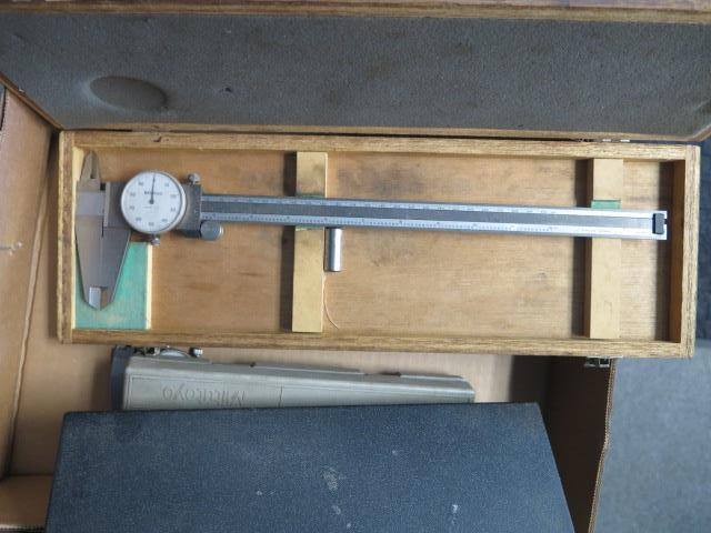 """Mitutoyo and Import 12"""", 8"""" and 6"""" Dial Calipers (5) (SOLD AS-IS - NO WARRANTY) - Image 3 of 3"""