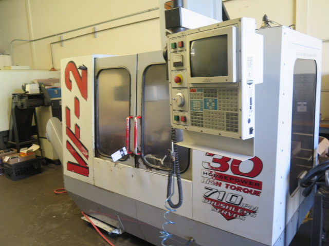 1998 VF-2 4-Axis CNC Vertical Machining Center s/n 15521 w/ Haas Controls, Hand Wheel, (SOLD AS IS) - Image 3 of 20