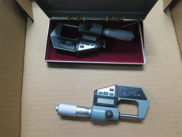 """Mitutoyo 0-1"""" Digital OD Mics (2) (SOLD AS-IS - NO WARRANTY) - Image 2 of 3"""