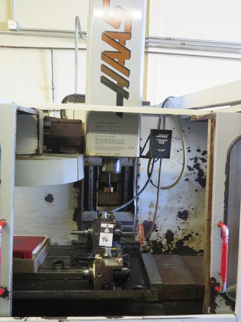 1998 VF-2 4-Axis CNC Vertical Machining Center s/n 15521 w/ Haas Controls, Hand Wheel, (SOLD AS IS) - Image 9 of 20