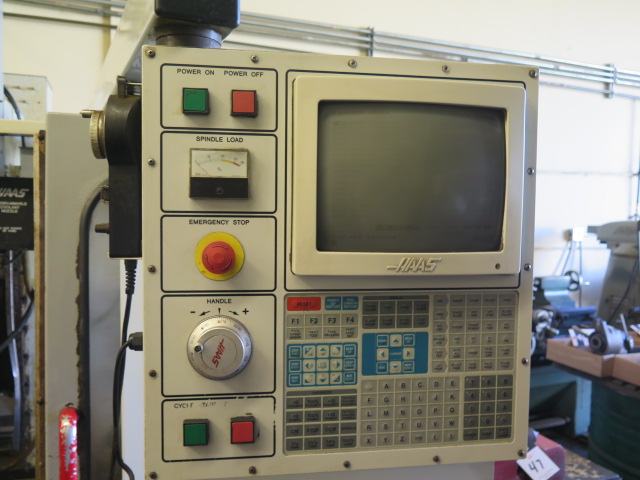 1998 VF-2 4-Axis CNC Vertical Machining Center s/n 15521 w/ Haas Controls, Hand Wheel, (SOLD AS IS) - Image 11 of 20