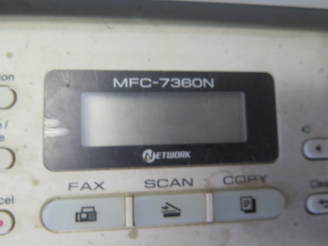 Brother MFC-7260N Office FAX/Copy/Scanner Machine (SOLD AS-IS - NO WARRANTY) - Image 3 of 3