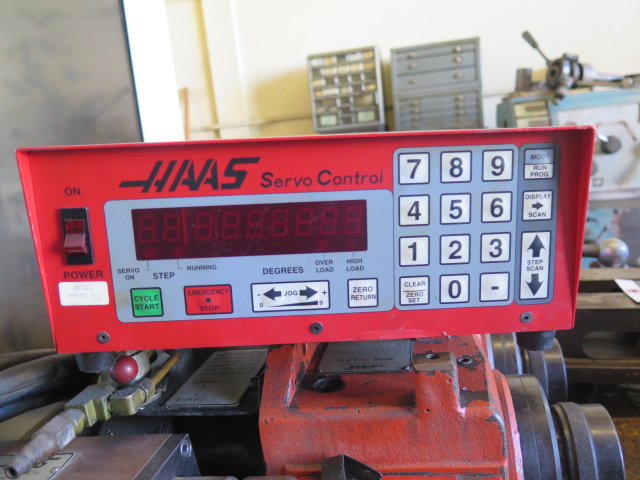 Haas HA5C2 2-Head 4th Axis 5C Rotary Index w/ Haas Servo Controller & (2) Mill Centers (SOLD AS IS) - Image 7 of 9