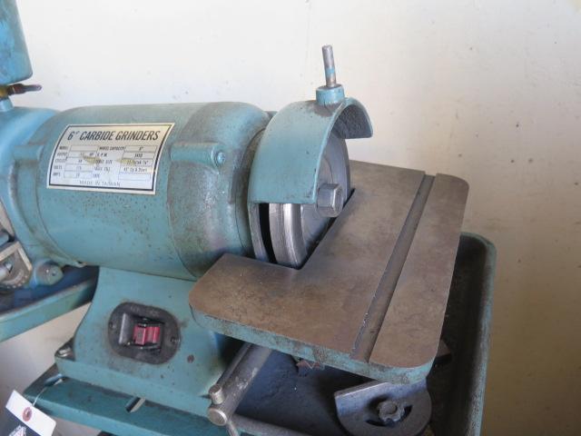 Import Pedestal Carbide Tool Grinder (SOLD AS-IS - NO WARRANTY) - Image 3 of 5