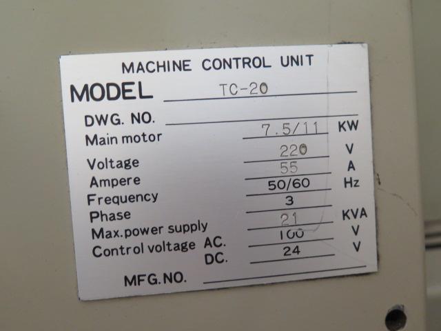 Takisawa TC-30 CNC Turning Center s/n TLNM5560 w/ Takisawa-Fanuc Controls, 12-Station, SOLD AS IS - Image 13 of 13