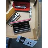 """Mitutoyo 0-1"""" and 1""""-2"""" Inside Mics (3) and Starrett 1.5""""-6"""" ID Mic (SOLD AS-IS - NO WARRANTY)"""