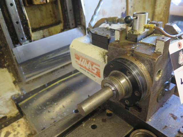 Haas HA5C2 2-Head 4th Axis 5C Rotary Indexer (ONE HEAD REMOVED FOR REPAIR) (SOLD AS-IS - NO - Image 6 of 8