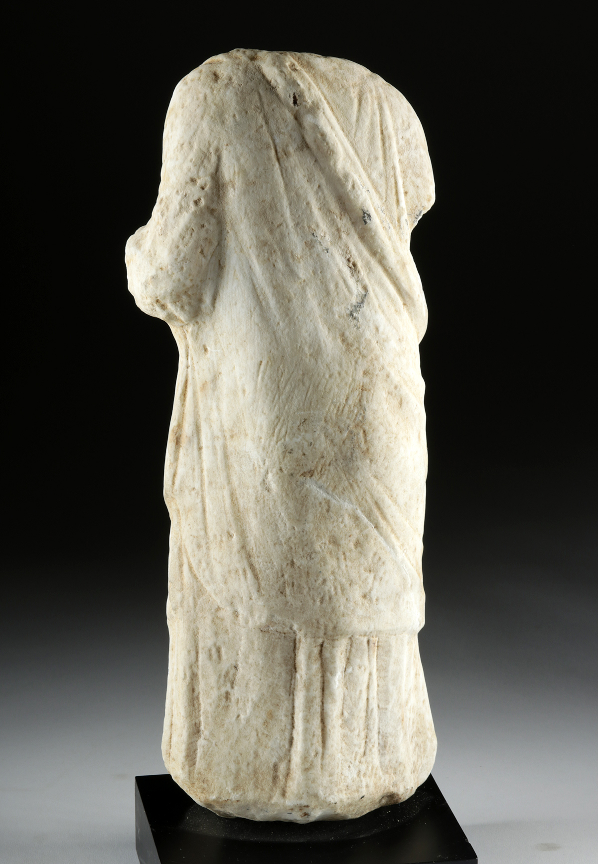 Lot 27b - Greek Hellenistic Marble Muse - Beautiful