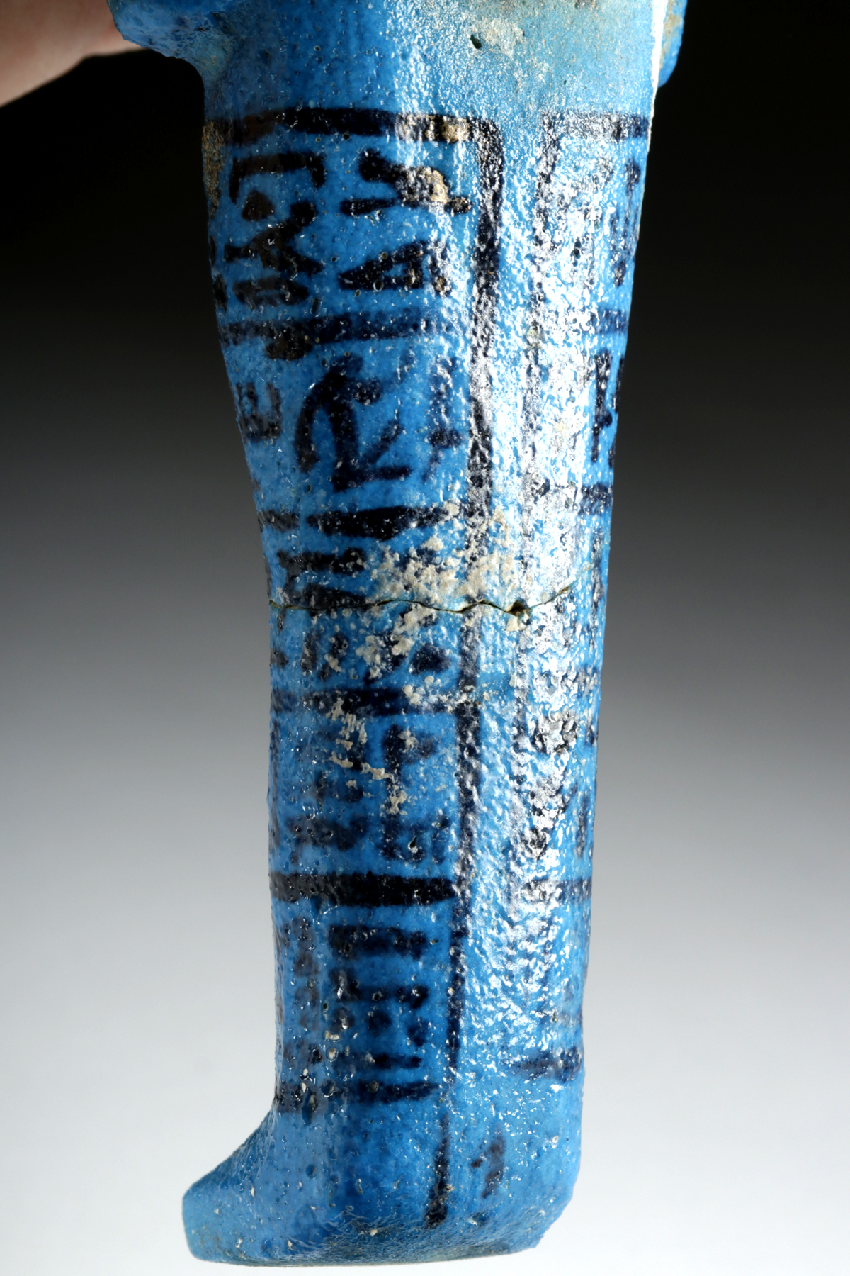 Lot 6 - Translated Egyptian Faience Ushabti - Nesykhonsu