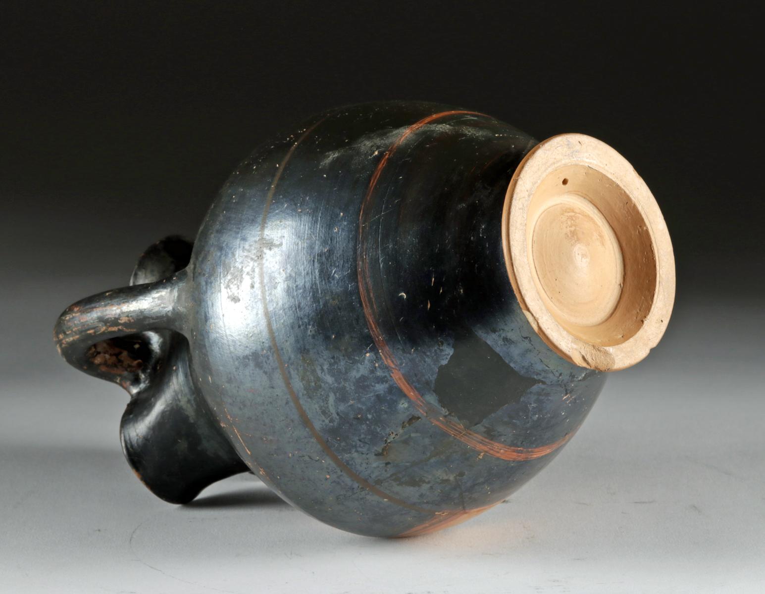 Lot 25 - Greek Euboean Terracotta Trefoil Oinochoe