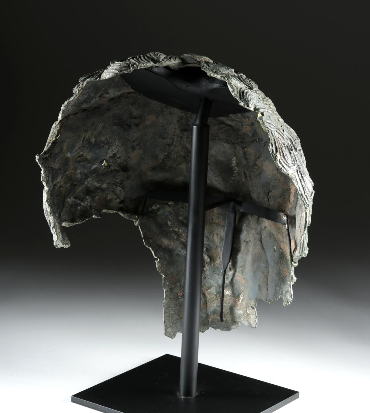 Lot 25d - Rare Greek Hellenistic Bronze Coiffure