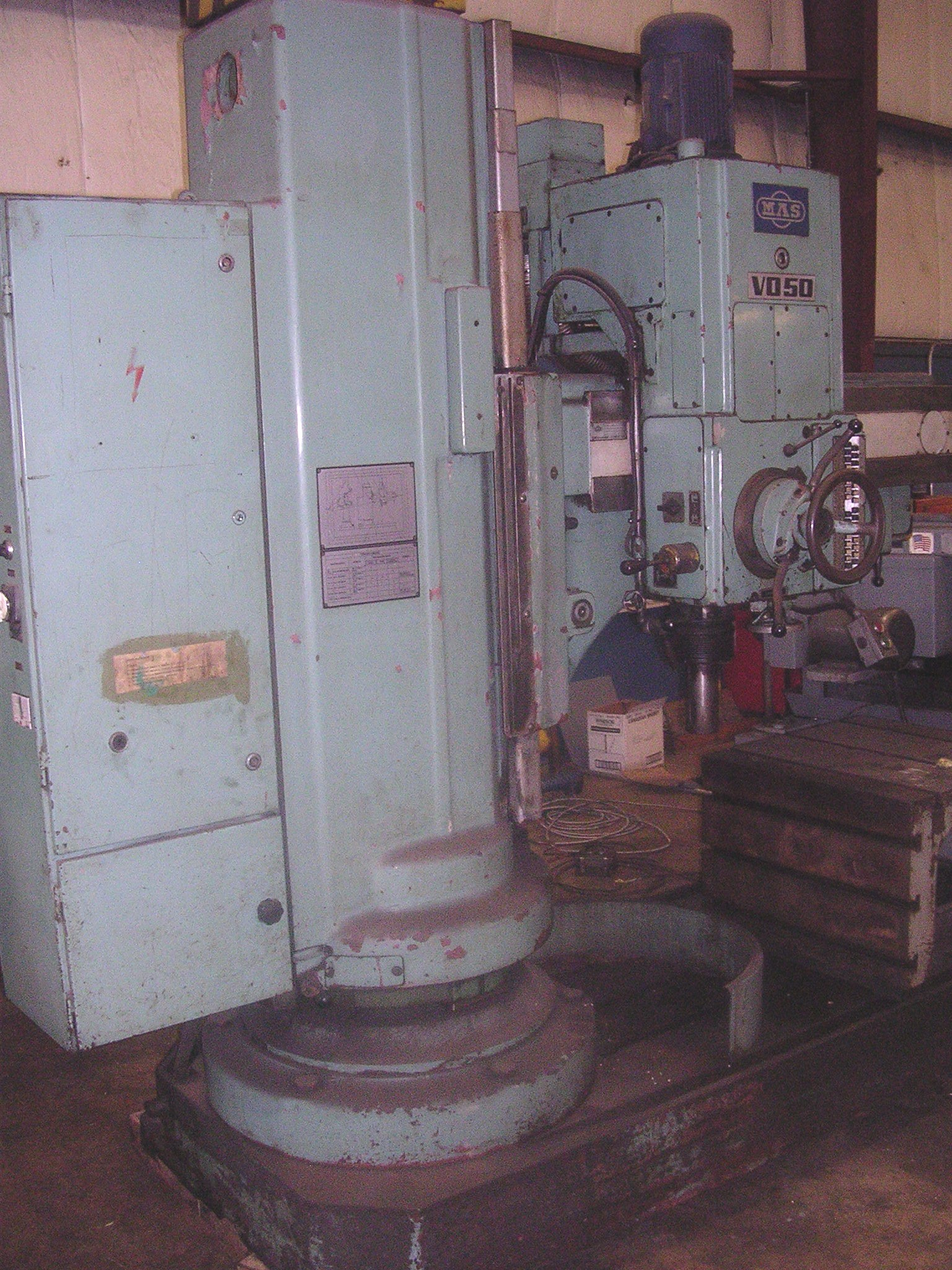 Lot 5 - MAS MODEL V050 4FT. RADIAL DRILL: S/N 356 (NEW 1981);
