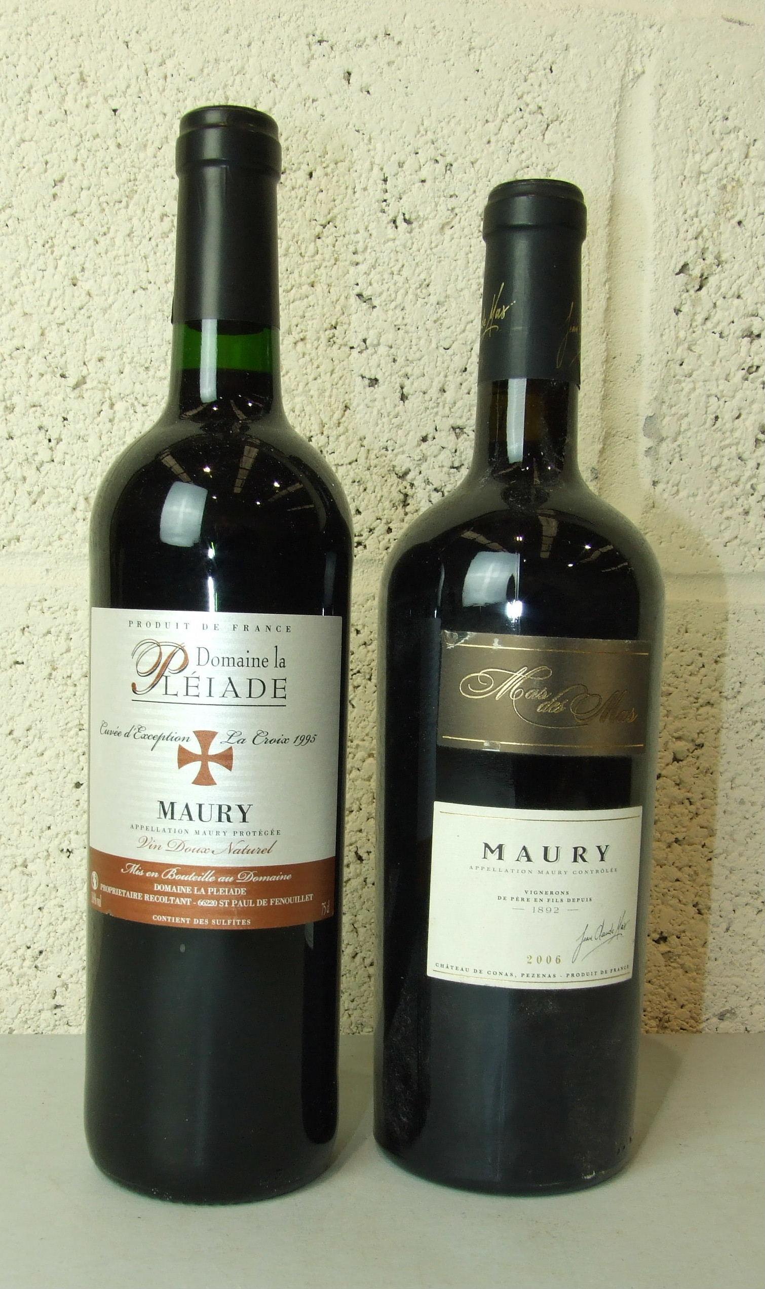 Lot 37 - France, Maurey, Domain La Pléiade 1995, five bottles and one 2006, (6)