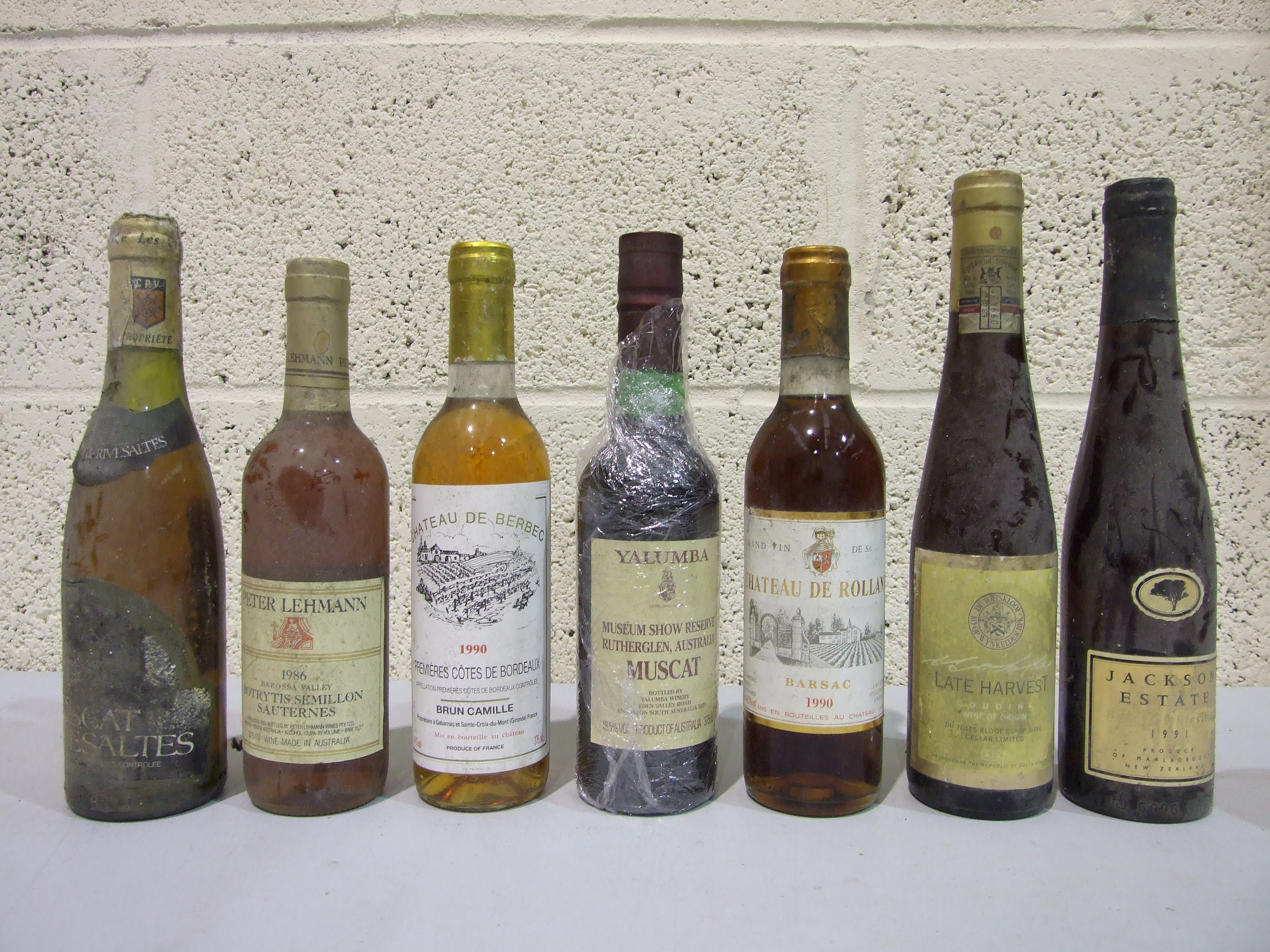 Lot 47 - A mixed lot of mainly aged dessert wines, 37.5cl, sixteen bottles, (16).