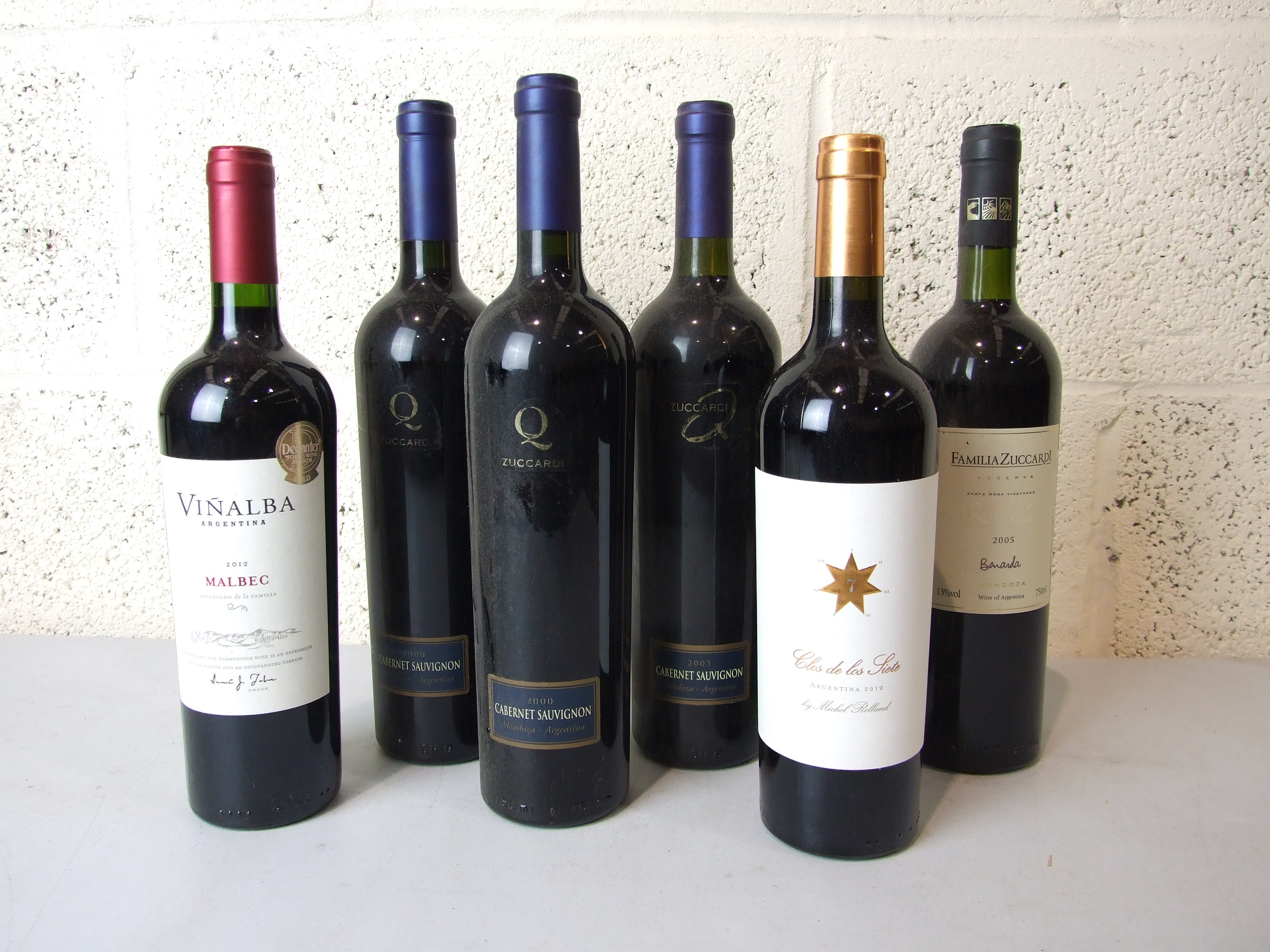 Lot 57 - Argentina and Chile, a mixed lot of various vintages, twelve bottles, (12).
