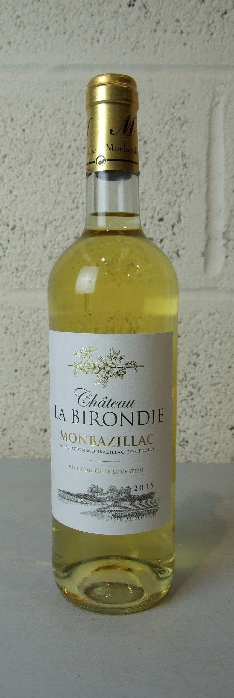 Lot 56 - France Monbazillac, la Birondie, nine bottles, (9)