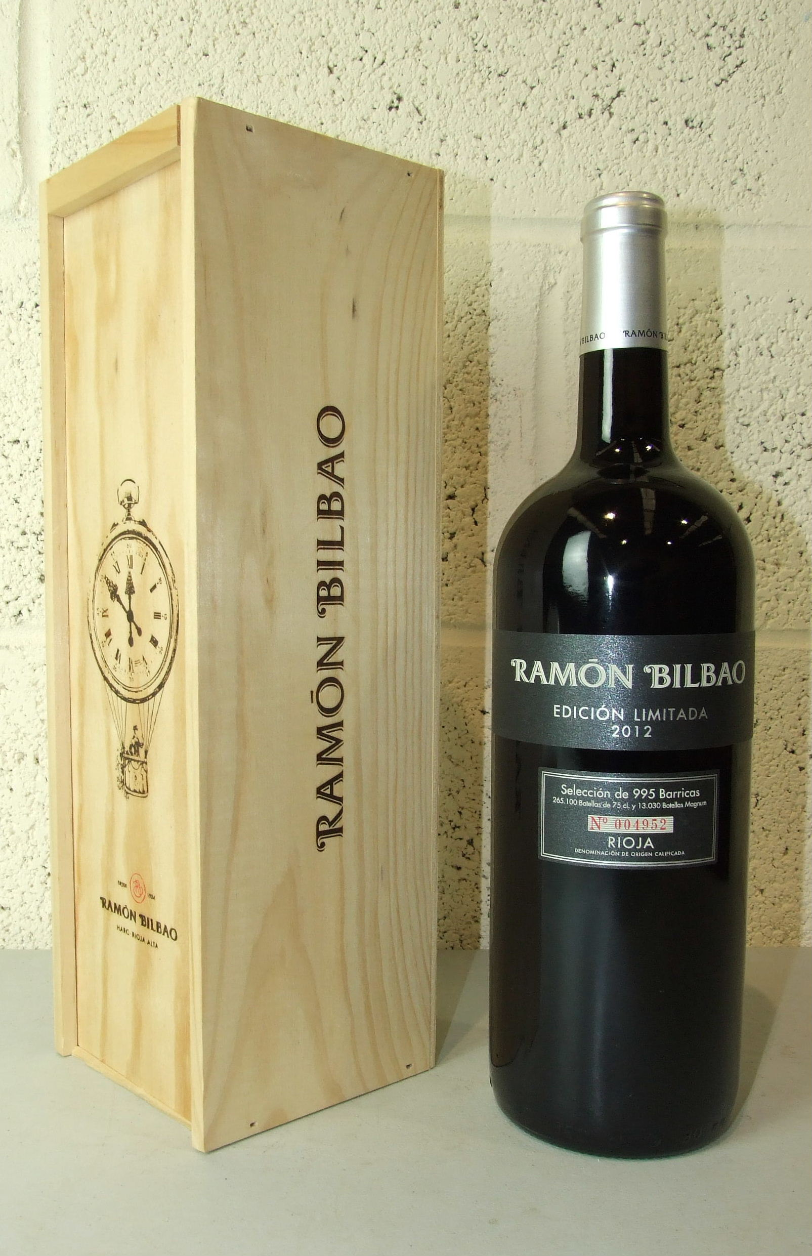 Lot 28 - Spain, Rioja Ramon Bilbao 2012, one magnum, OWC, (1).