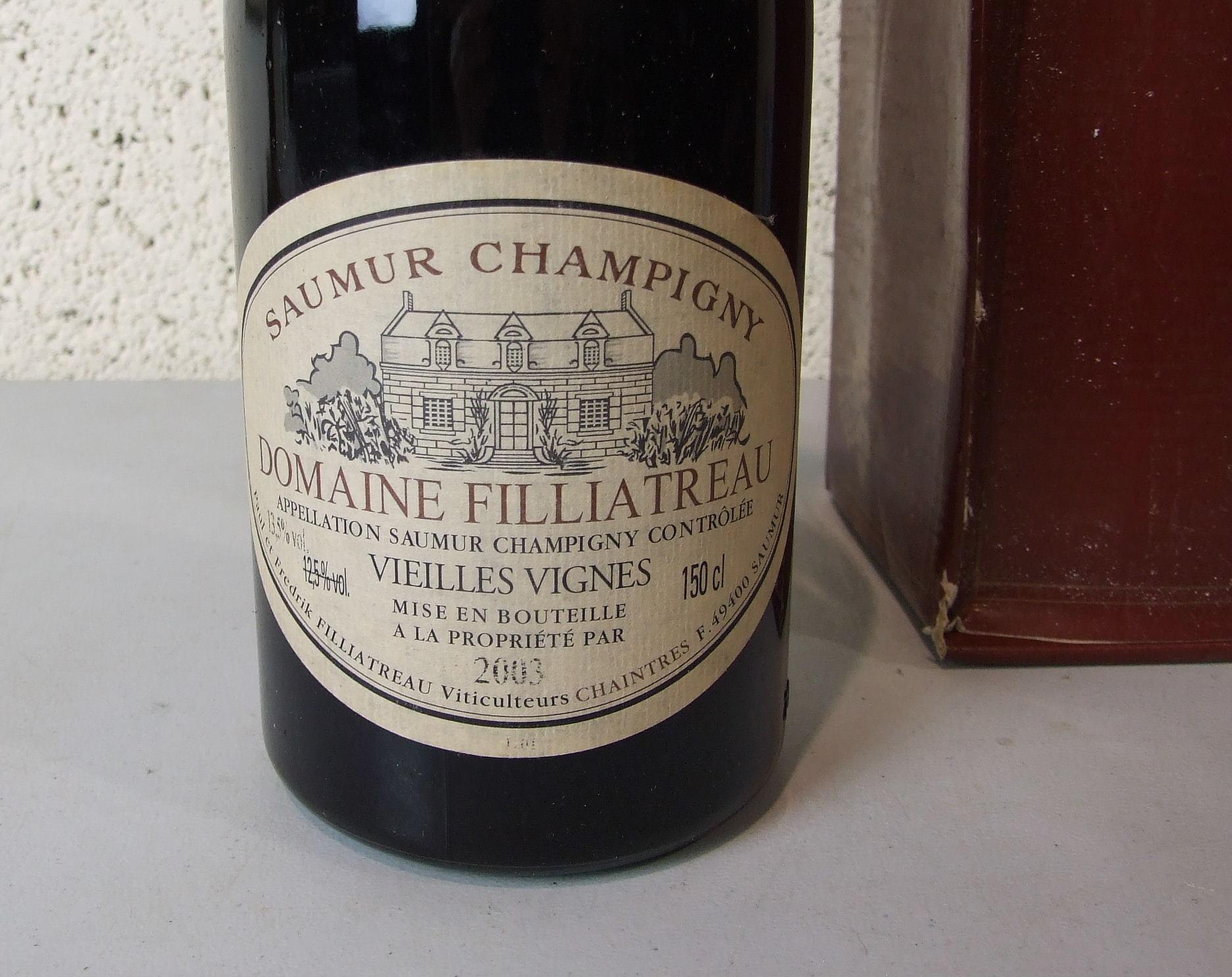 Lot 44 - France, Domaine Filliatreau Saumur Champigny 2003, one magnum, (1).