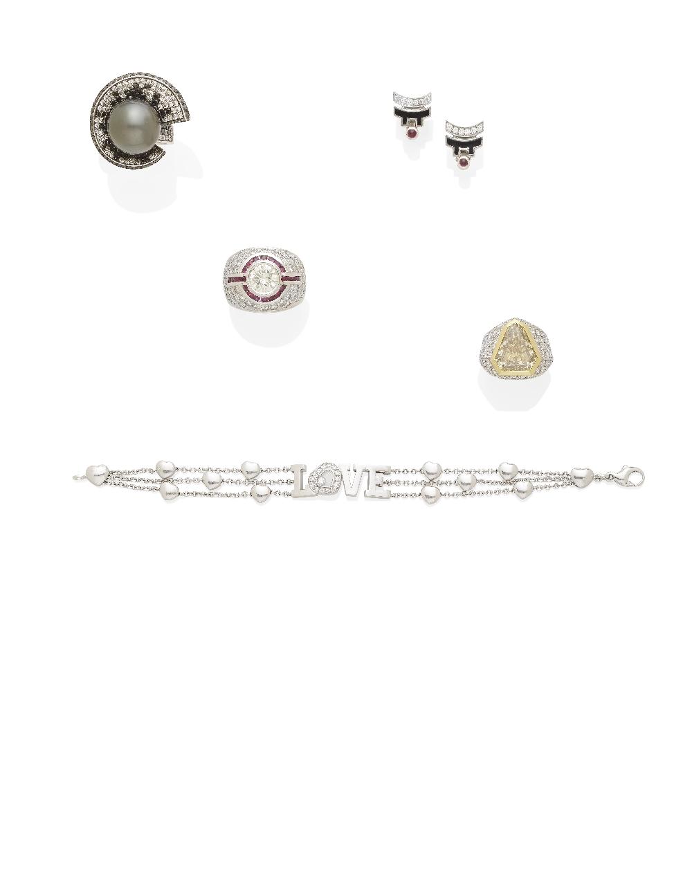 A 'Happy Diamond' bracelet, Chopard