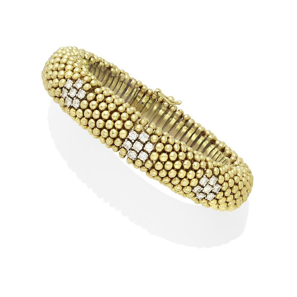 A diamond bracelet - Image 2 of 2