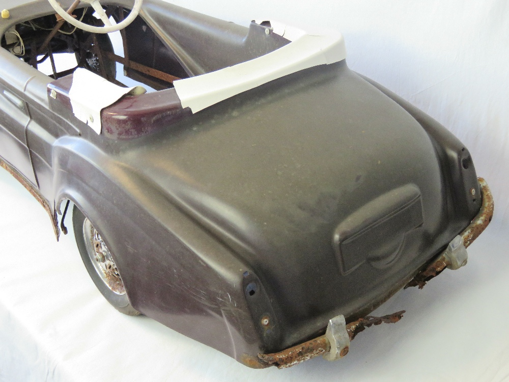 Lot 611 - A rare vintage Tri-ang Rolls Royce Silve