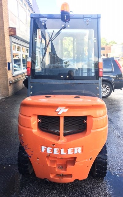 Feeler FD25 2.5T Diesel Forklift Truck- YOM: 2014 - Image 9 of 18